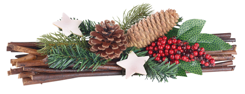 Décoration de table pour no u00ebl avec fagot de bois, houx et pin Pearl fr # Grand Fagot De Bois Decoration