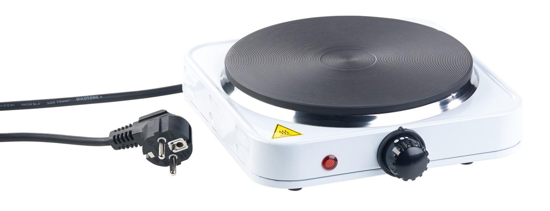 Plaque Vitrocéramique Un Feu plaque électrique compacte 1 feu 1500 w