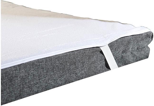 2 prot/ège-matelas imperm/éables lavables 90 x 200 cm