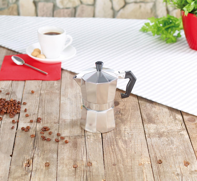cafeti re l 39 italienne 300 ml en aluminium pour 6 tasses. Black Bedroom Furniture Sets. Home Design Ideas
