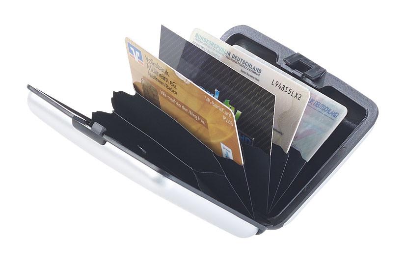 Carte bancaire /étui de Protection RFID /Étui de Protection pour Cartes de cr/édit RFID 100/% Protection Passeport Carte bancaire Carte didentit/é