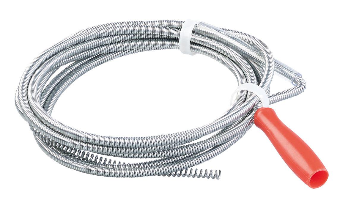 Deboucher Canalisation Avec Tuyau Arrosage furet de plomberie 3 m / Ø 6 mm