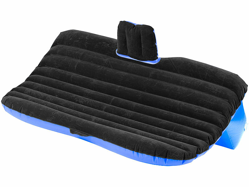 matelas gonflable pour banquette arri re avec gonfleur 12v. Black Bedroom Furniture Sets. Home Design Ideas