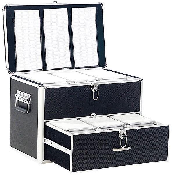 achat coffre de rangement professionnel 1000 cd dvd. Black Bedroom Furniture Sets. Home Design Ideas