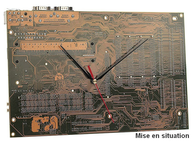 Mécanisme d\'horloge silencieux, 3 sets d\'aiguilles (sans cadran ...