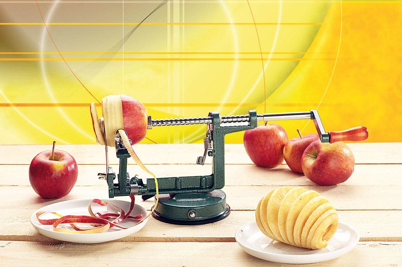 Achat vente plucheur automatique de pommes version de luxe - Couper des pommes en lamelles ...