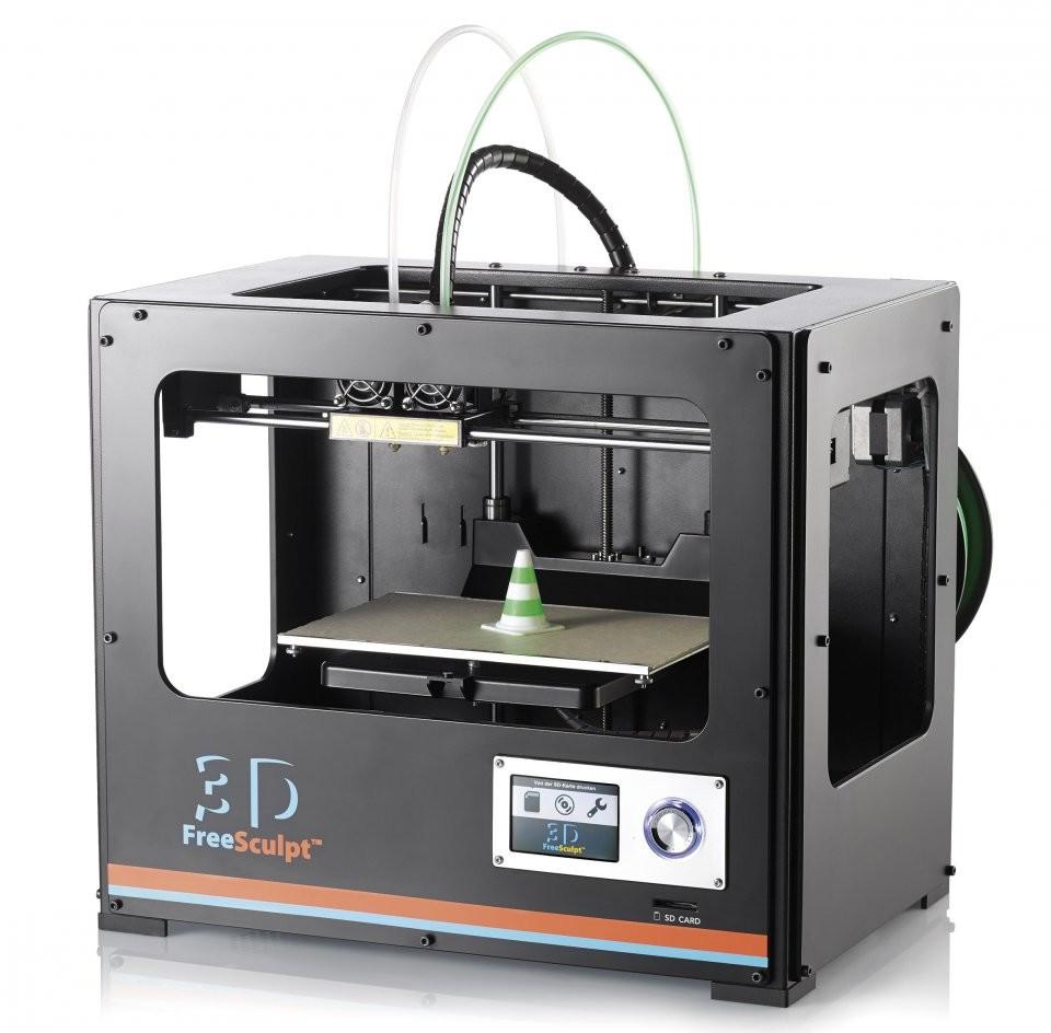 imprimante 3d double extrudeuse pas cher freesculpt ex2. Black Bedroom Furniture Sets. Home Design Ideas
