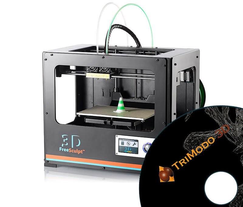 pack imprimante 3d freesculpt ex2 avec logiciel 3d trimodo pas cher. Black Bedroom Furniture Sets. Home Design Ideas