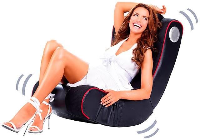 fauteuil gamer vibrant avec haut parleurs et bluetooth int 233 gr 233 s pearl fr