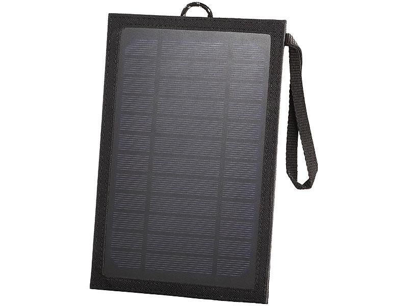 Panneau solaire nomade et tanche avec sortie usb 5v revolt - Panneau solaire mobil home ...
