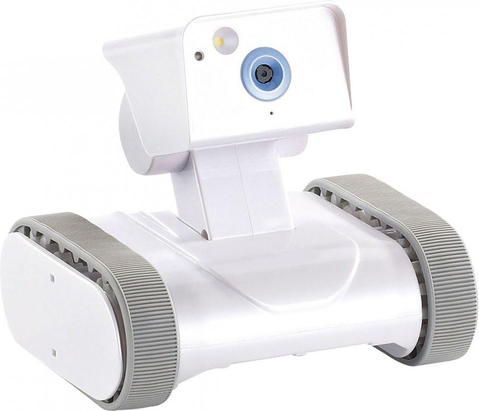 Mini Robot De Surveillance Avec Cam Ra Pilotable Par Smartphone