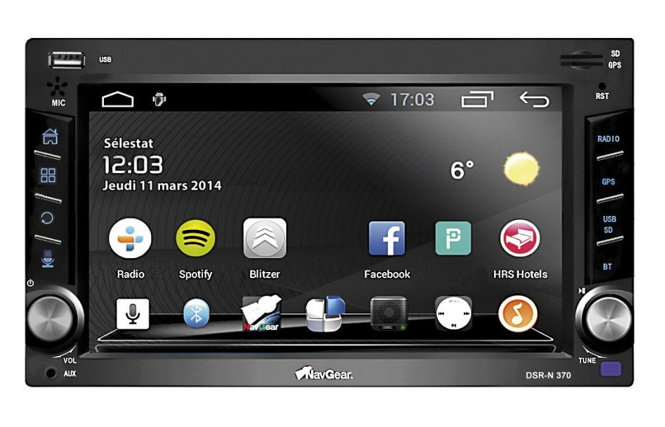 autoradio android 4 0 avec cran tactile 6 2 39 gps bt et ela link. Black Bedroom Furniture Sets. Home Design Ideas