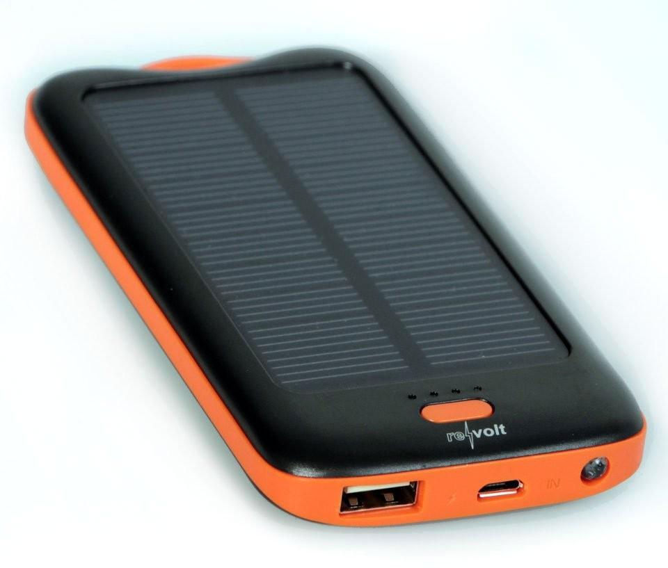 batterie de secours solaire mah pour smartphone gps. Black Bedroom Furniture Sets. Home Design Ideas