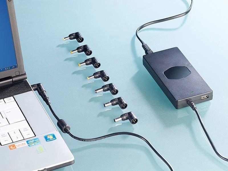 embouts connecteurs pour chargeur pc universel 90w revolt. Black Bedroom Furniture Sets. Home Design Ideas