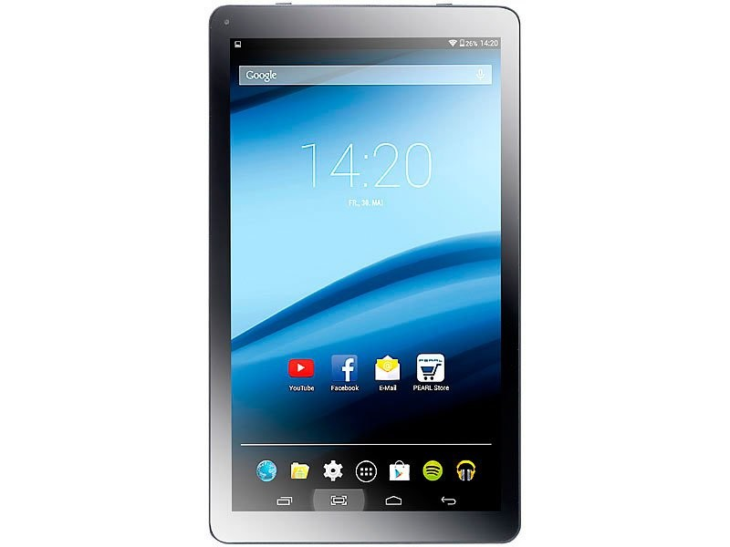 Tablette Android 4.4 KitKat pas cher, écran 10.1\' 16:9 : XA100 ...