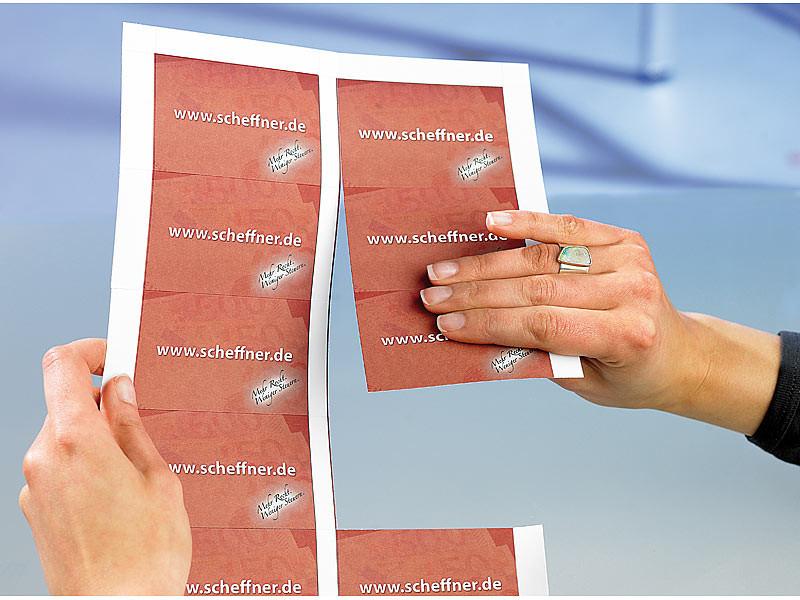 Achat Vente 250 Cartes De Visites Predecoupees