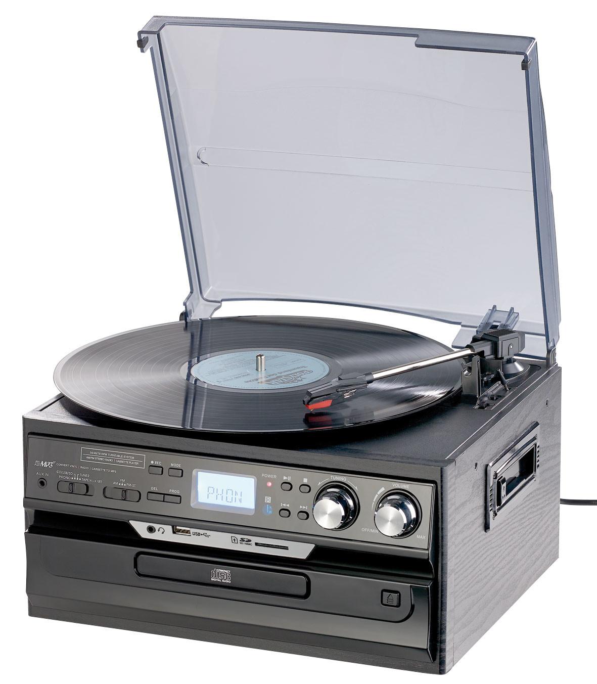 Chaine Hifi Encastrable Salle De Bain ~ cha ne hifi avec platine et num riseur cd vynile vers usb mhx 580