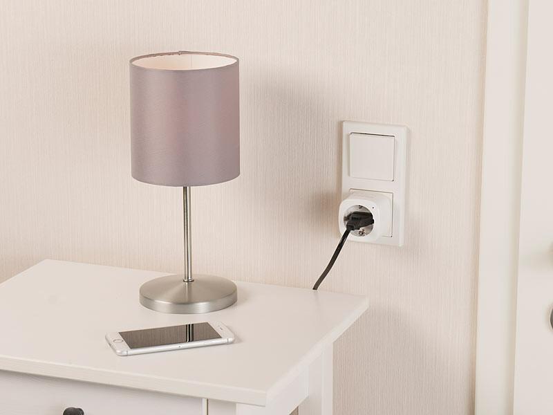 prise secteur connect e compatible alexa et google home avec app. Black Bedroom Furniture Sets. Home Design Ideas